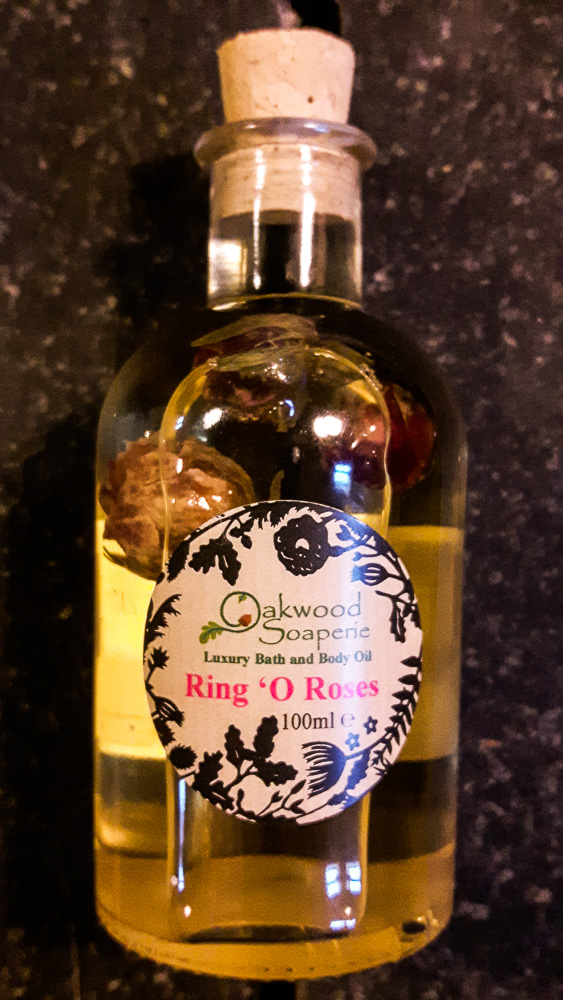 Ring O Roses Bath, Body and Massage Oil