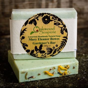 Gardener's Soap inspired by 'Mary Eleanor Bowes'