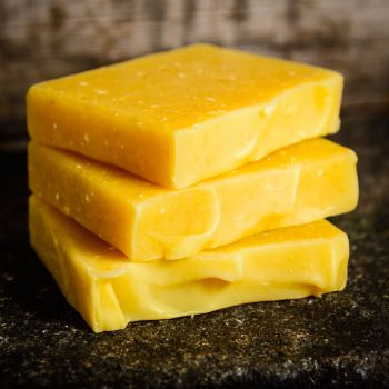 SALE - Carrot and Orange handmade soap - REDUCED TO CLEAR
