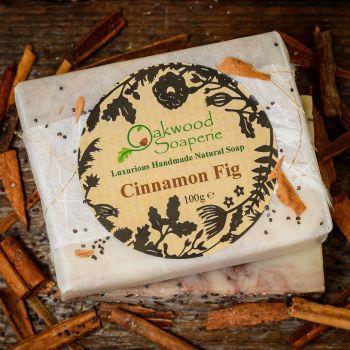SALE - Cinnamon Fig soap - WAS £4.50, NOW £3.00