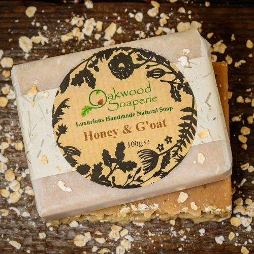 SALE - Honey and G'oat handmade soap