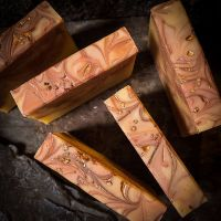 We Three Kings Handmade Soap with Frankincense oil.REDUCED TO CLEAR