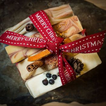 4 x Boxed Christmas soap gift  - PRE - ORDER