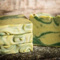 SALE - Limechouli and Nettle leaf Handmade soap - NOW £3.00