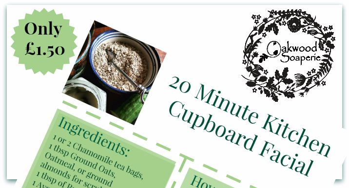 20 Minute Kitchen Cupboard Facial recipe