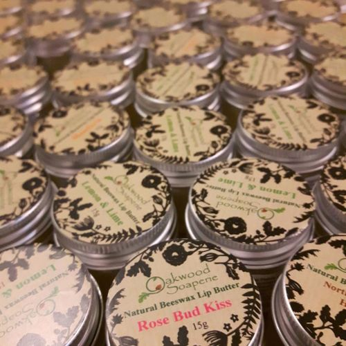 Luxurious Lip Butters with Beeswax, Honey and essential oil