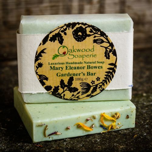 'Mary Eleanor Bowes' Gardener's Soap - REDUCED TO CLEAR