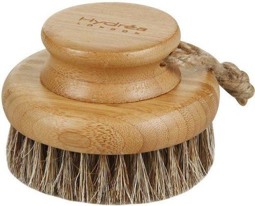 Bamboo Round Body Brush with Mane & Cactus Bristle