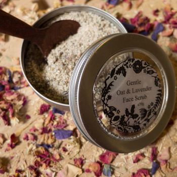 Gentle Oat and Lavender Face Scrub