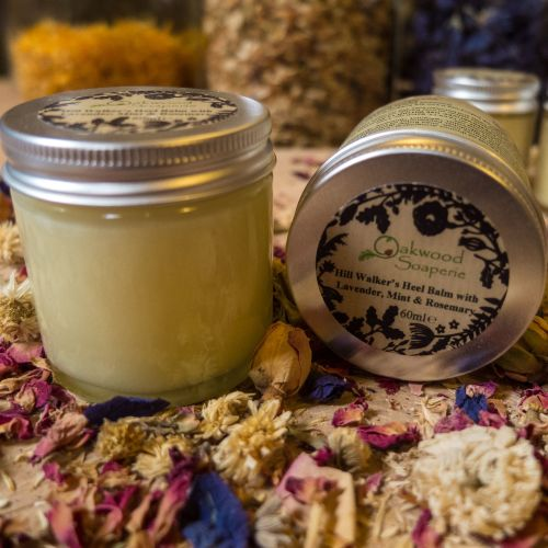Hill walker's Heel Balm with Lavender, Mint & Rosemary