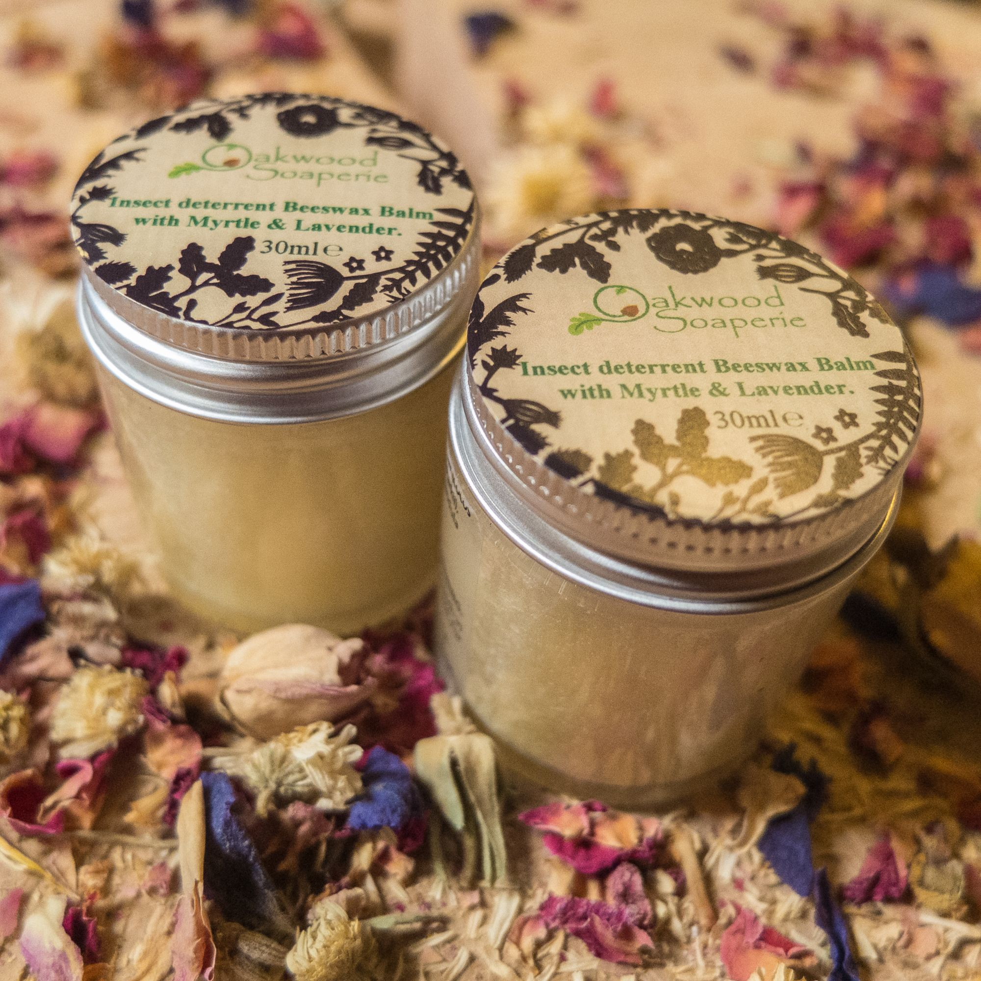 herbal and healing skincare balms