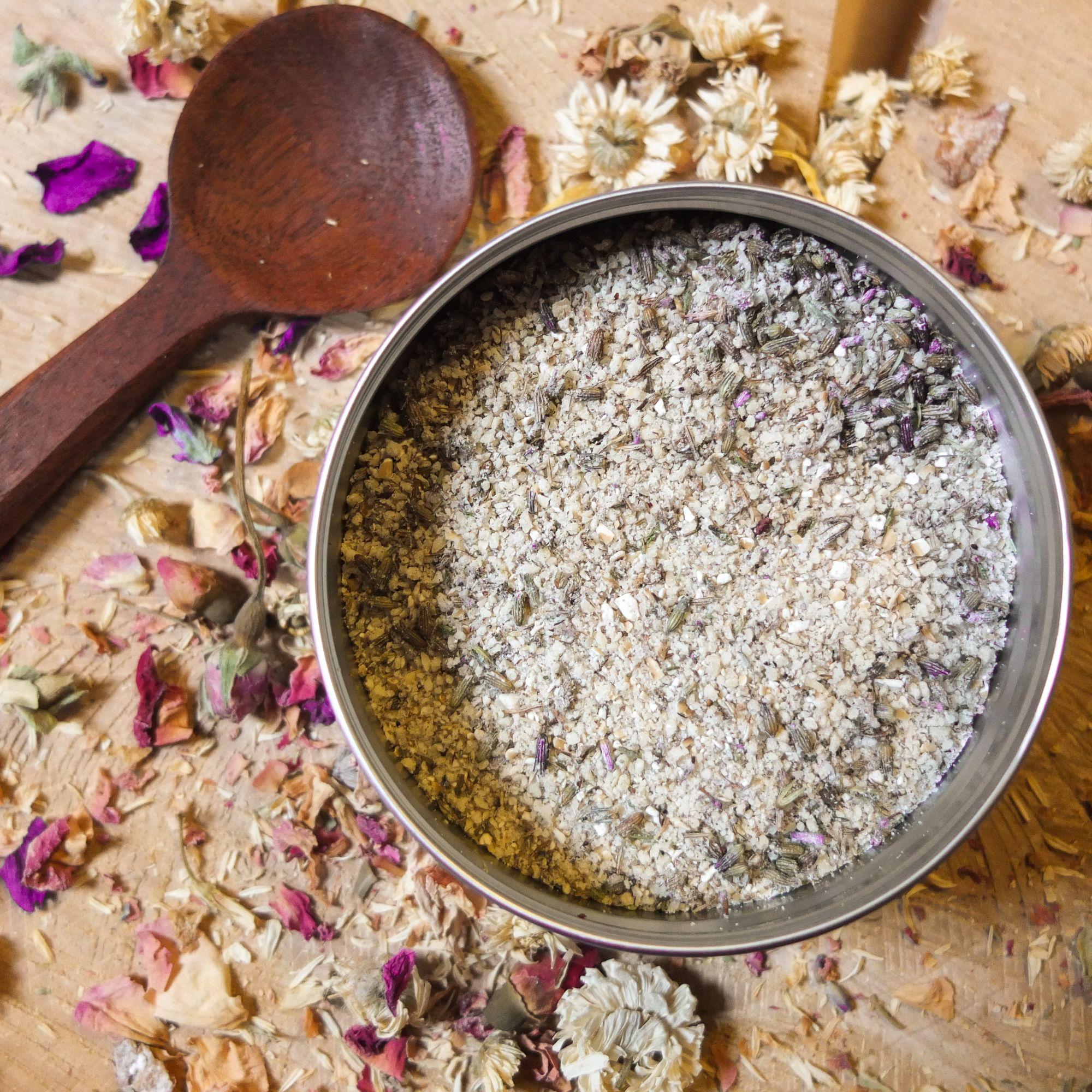 Lavender & Oat Gentle Facial Scrub