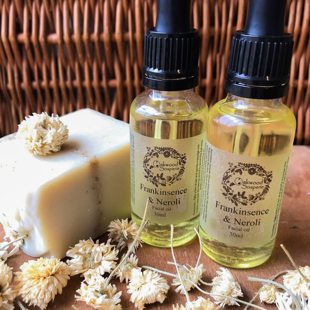 Frankincense & Neroli Facial Treatment oil for Mature Skin
