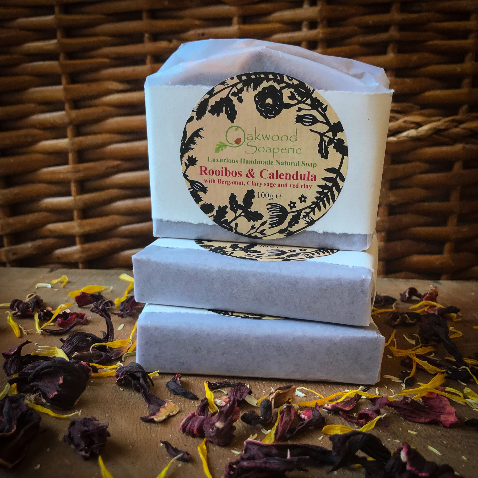 Ltd. edition Rooibos & Calendula handmade soap