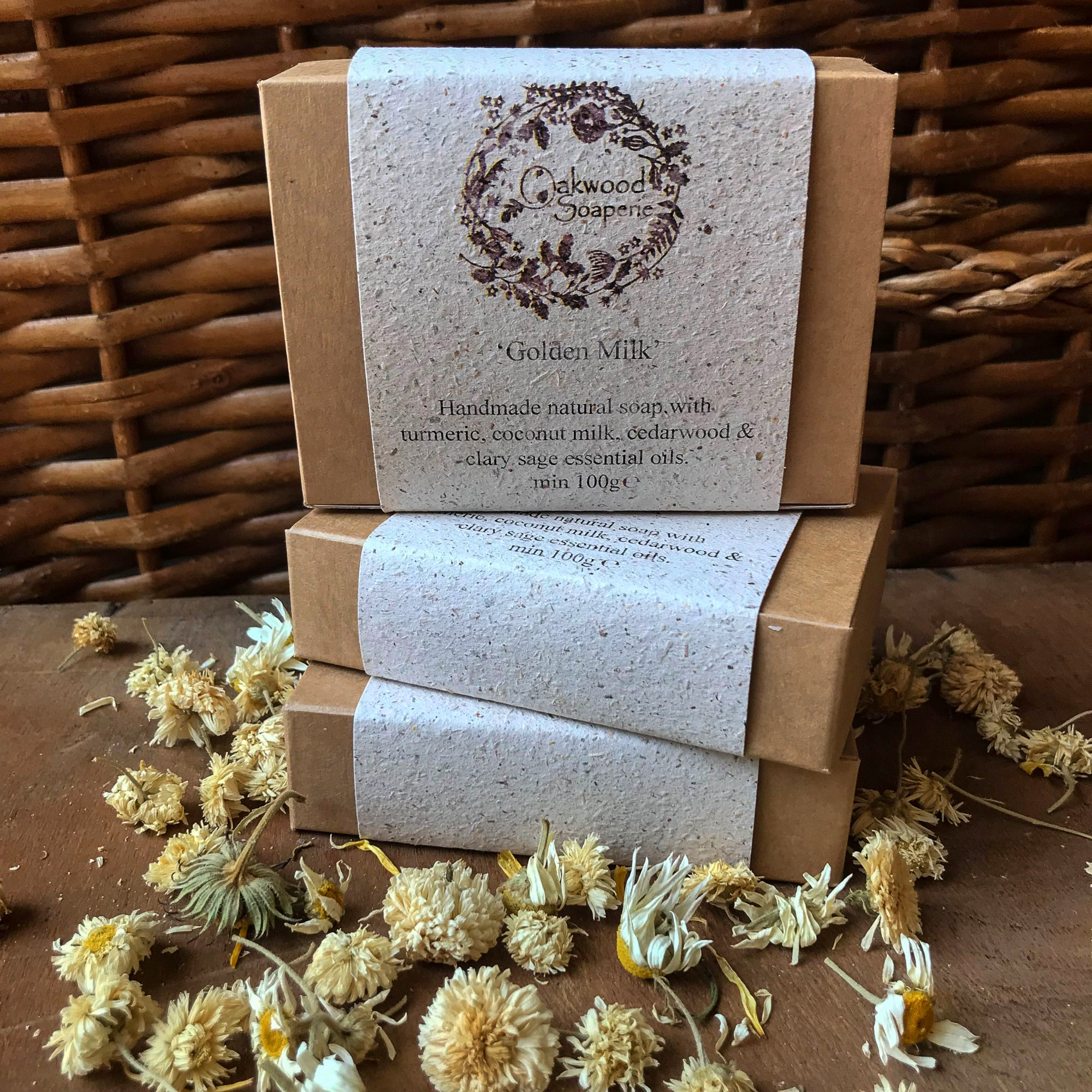 Ltd. edition Golden Milk Handmade soap