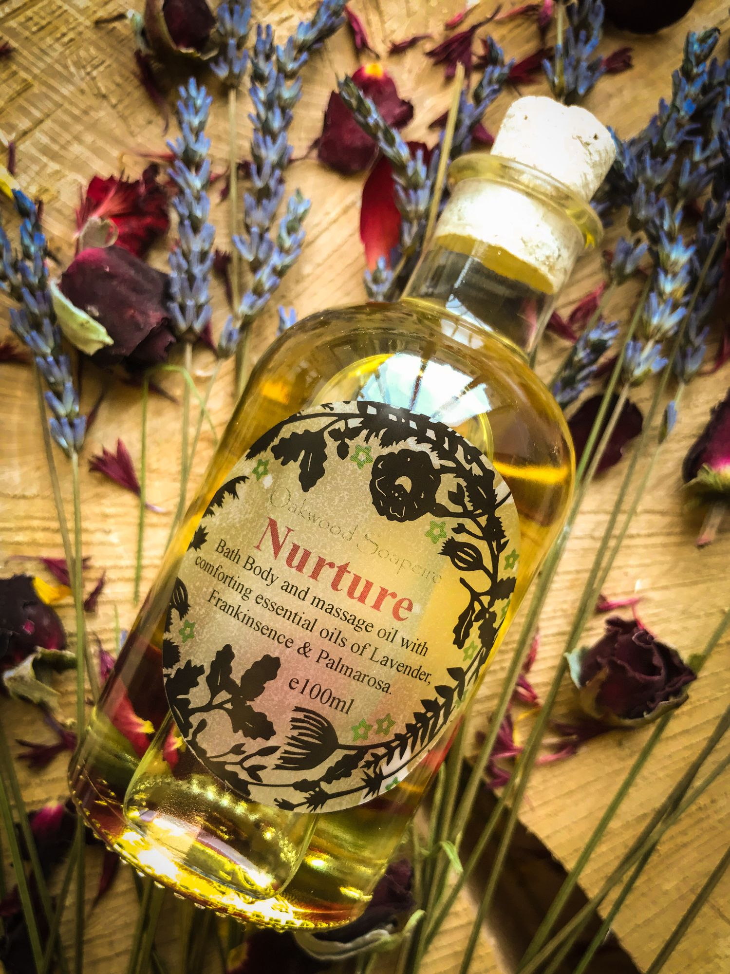 Nurture Bath and body oil