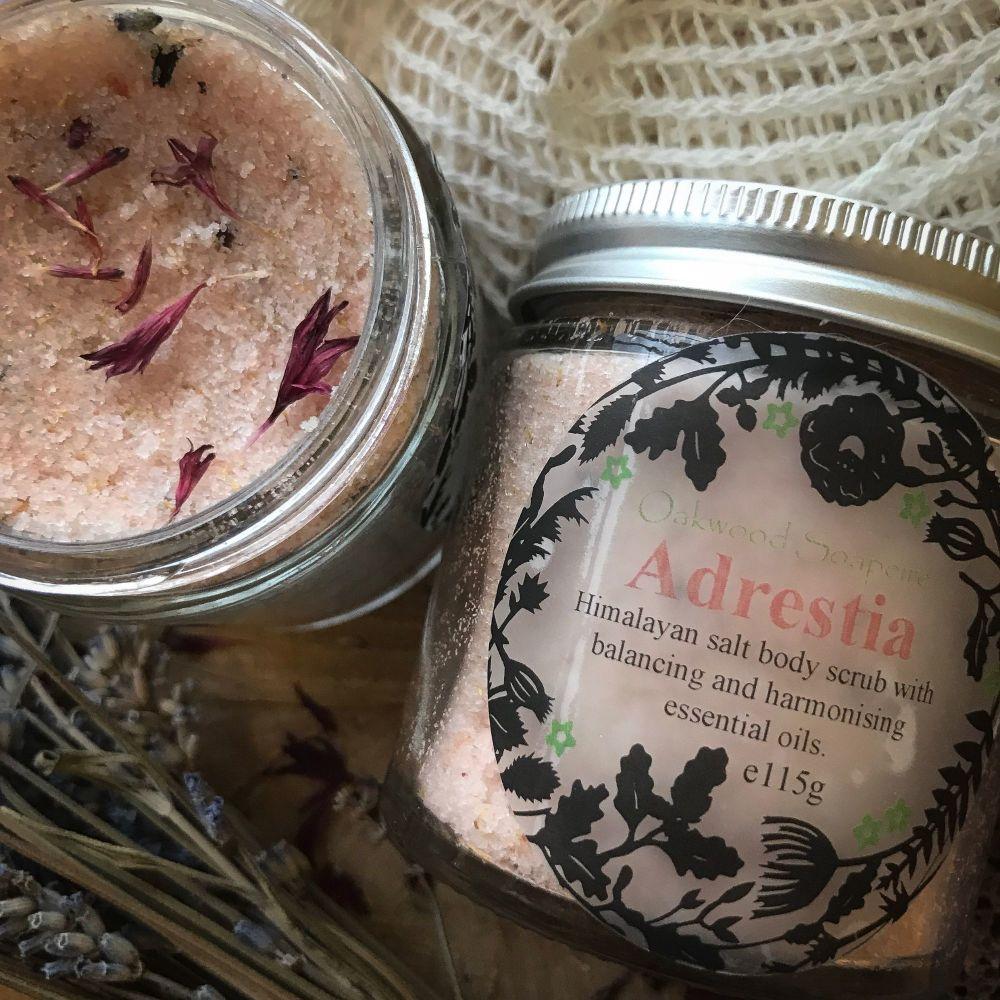 Exfoliating salt scrubs - choose your scent