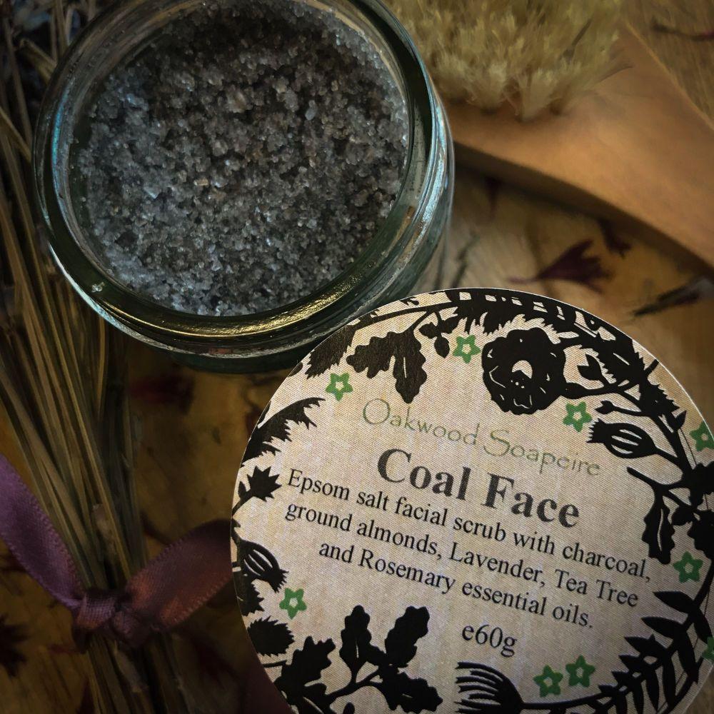 Coal Face Salt scrub