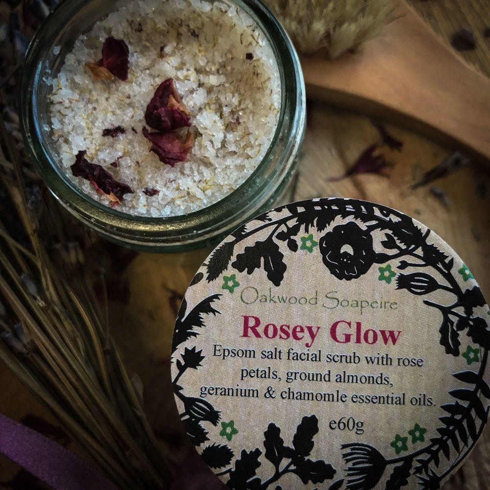Rosey Glow Salt scrub
