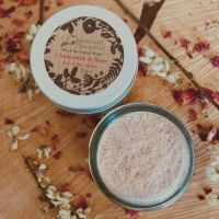 Rose Geranium & Chamomile Clay Mask for Dry Skin