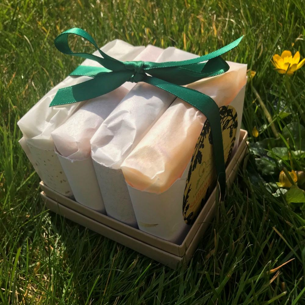 4 x Boxed soap gift - Signature