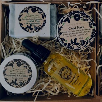 Facial Care Gift Box - Lavender & Rosemary for Combination / OIly Skin