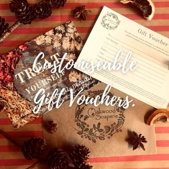 Gift Vouchers - Customise your gift £10 - £75