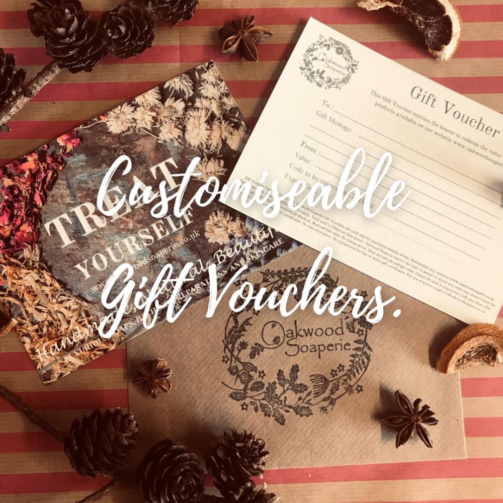 Customisable Gift Vouchers