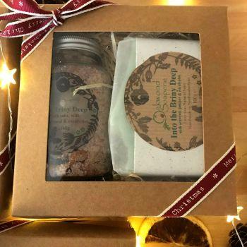 Bath Salt and Soap gift - Into the Briny Deep