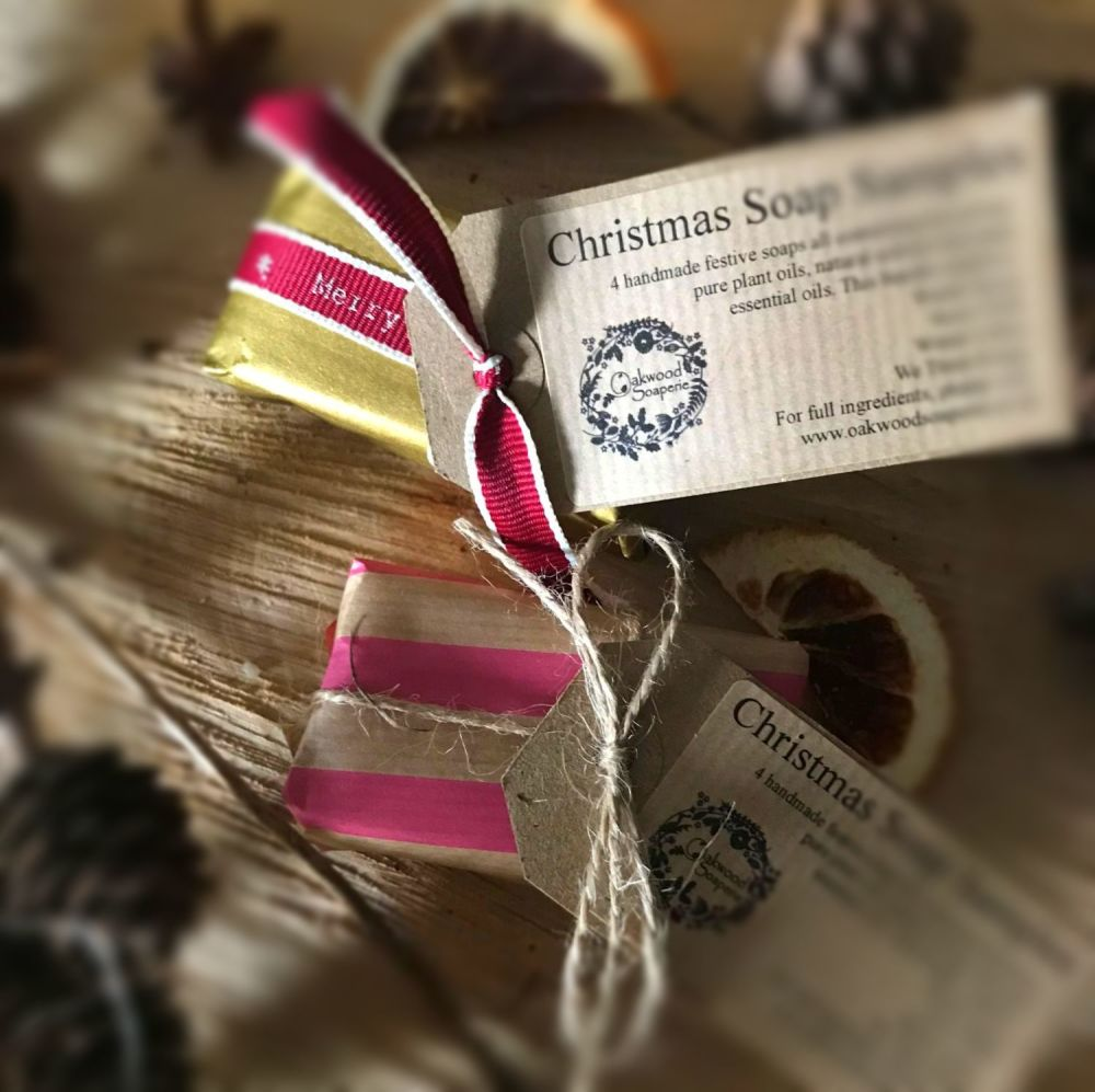 Christmas Soap Samples (Bundle of 4)