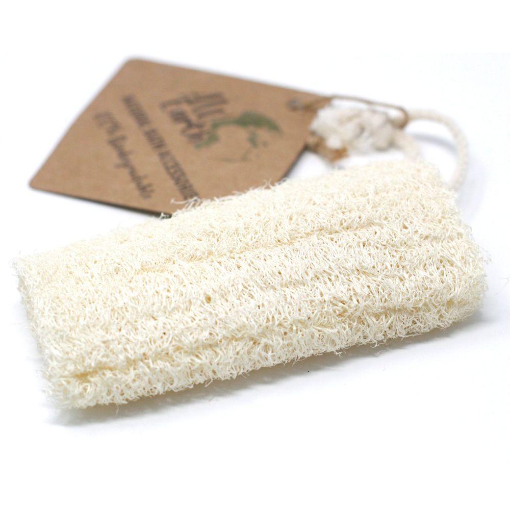 Natural Loofah Scrub on Rope - 5