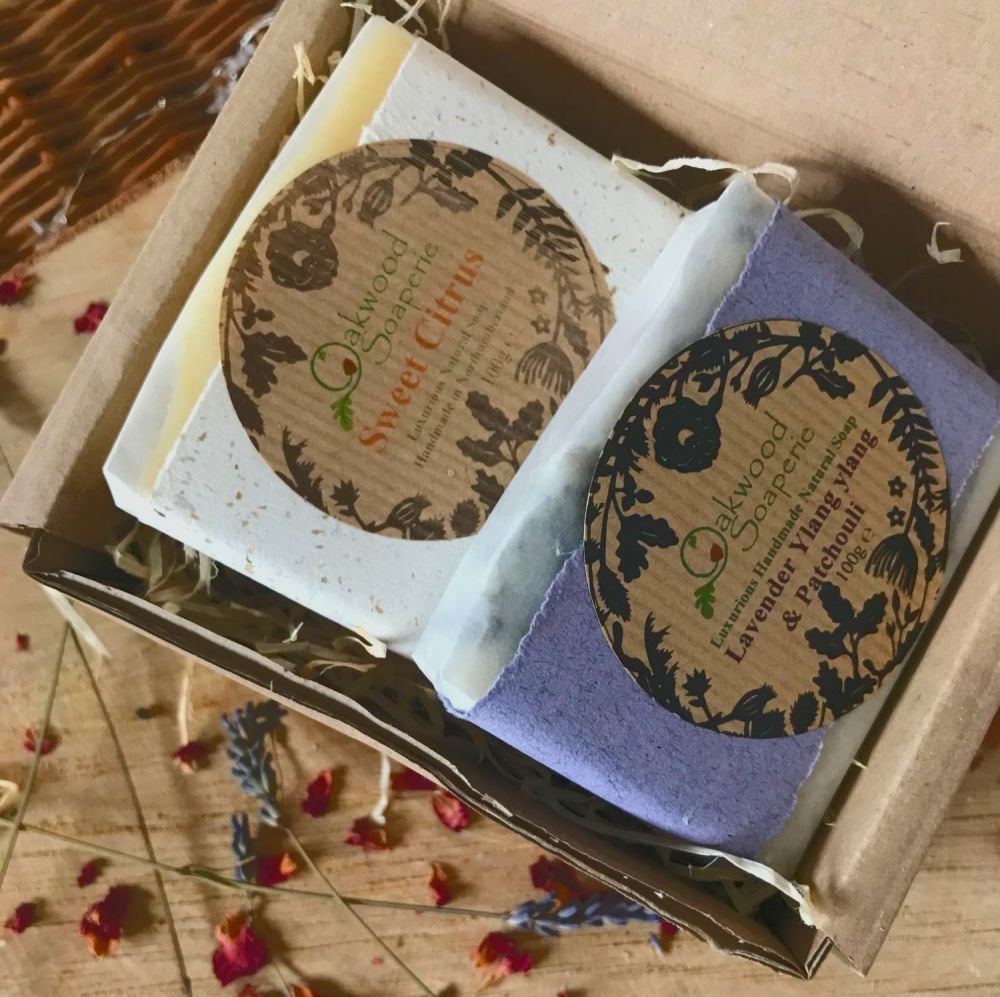Soap Gift set with 2 soap bars