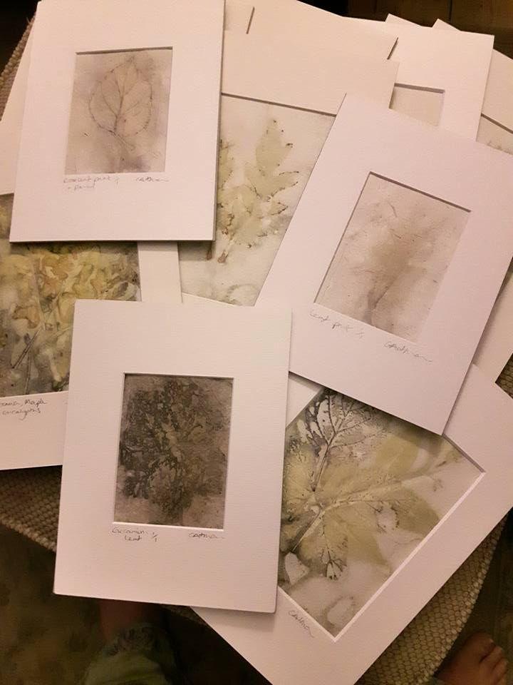 Mounted original prints