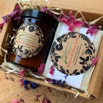 Candle and Soap Gift - Ylang ylang