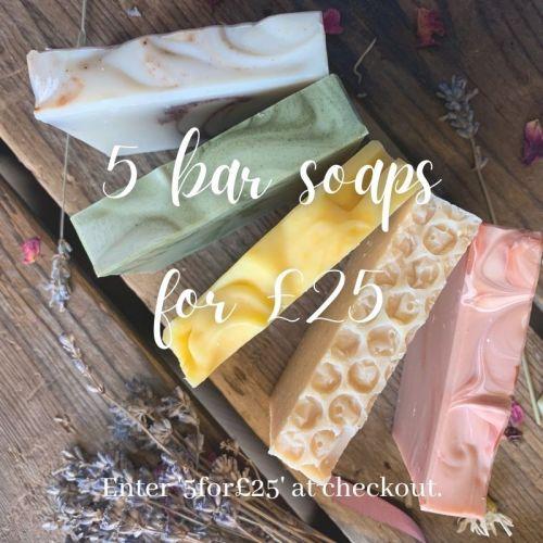 5 for £25 soap offer (1)