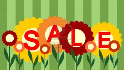 spring sale-background
