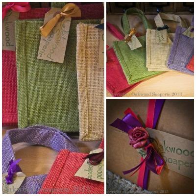 Natural Jute Gift Bag