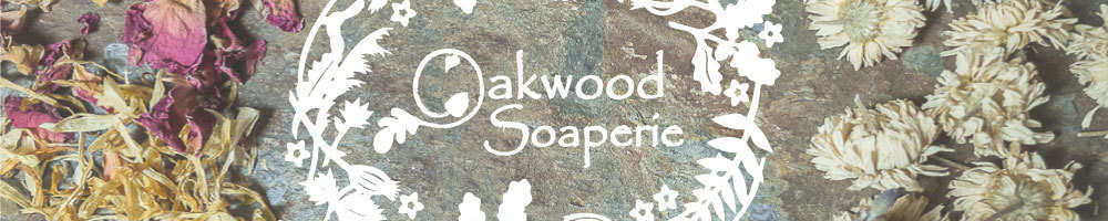 Oakwood Soaperie, site logo.
