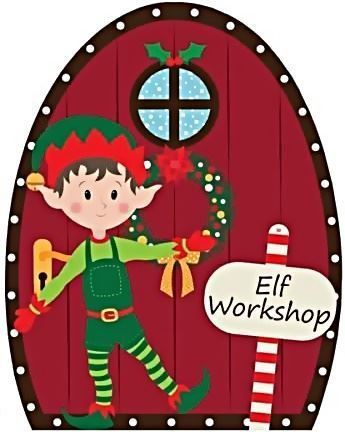 Christmas Elf Door Workshop 7th November 4pm