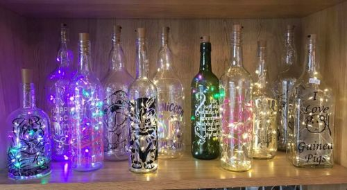 Light bottles