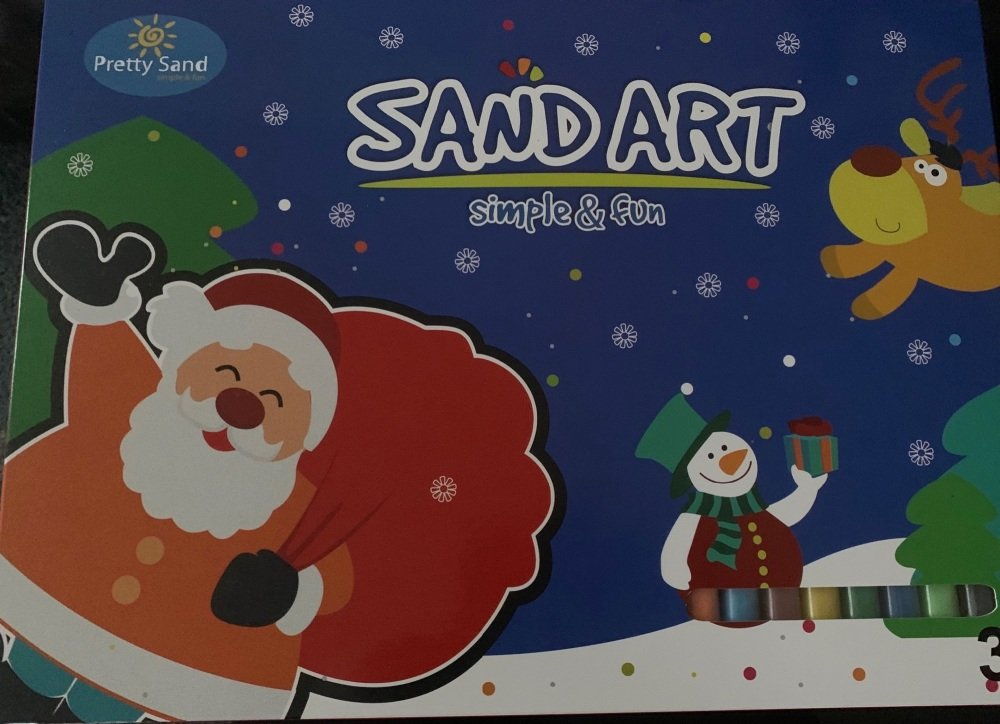 Christmas   theme Sand Art Kit