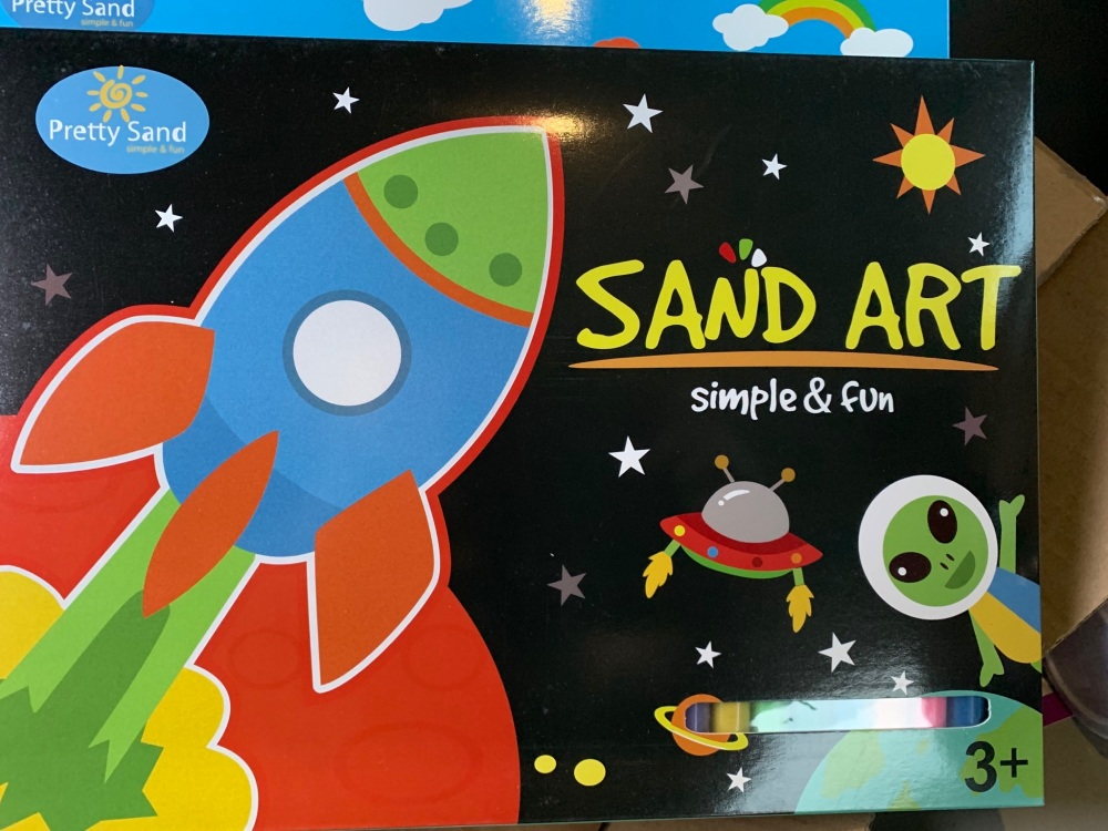 Space theme Sand Art Kit