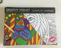 A3 Size Adult Colouring Book
