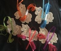 Unicorn Cross Stitch Keyring Kit