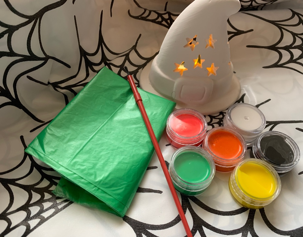 Paint your own Halloween Tealight