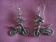 X Fighter Earrings