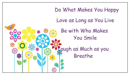 Do What Makes you Happy Magnet