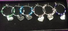 Hen Party Wine Glass Charms