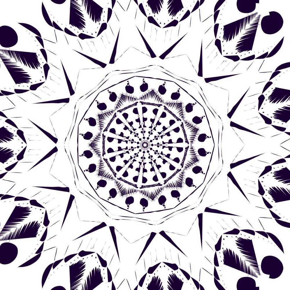 black_and_white_mandala