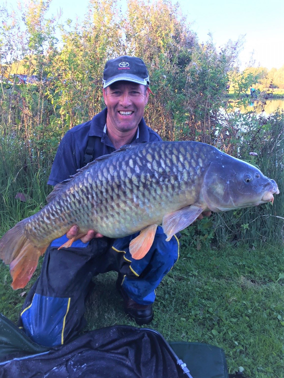 Dave Higgins 27.04lb of pole caught muscle Sept 18